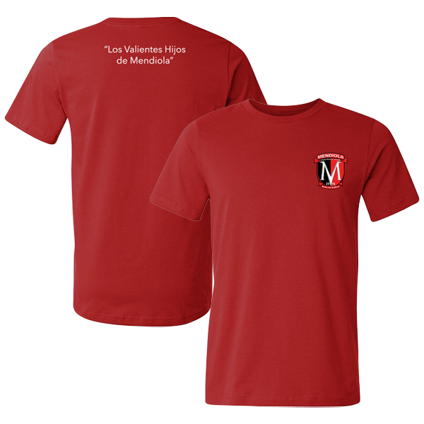 shop-mendiola-fc-1991-red-t-shirt-crest-and-tagline-text-front-and-back